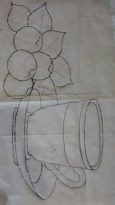 How to draw a cute coffee cup - coffee Cup Cute Draw fantasy Felt Patterns, Embroidery Patterns, Machine Embroidery, Stained Glass Designs, Stained Glass Patterns, Cute Coffee Cups, Cup Art, Drawing For Kids, Applique Designs