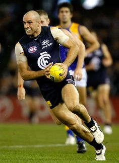 The explosive burst of pace is what set Judd apart from the rest as he couldn't be caught during the Round 10 match against West Coast at Etihad Stadium in 2010.
