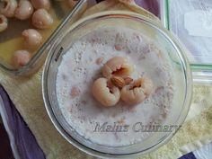 Maluz Culinary: Lychee (Litchi )Pudding