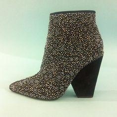 <3 Metal mania. #booties #heels #shoes