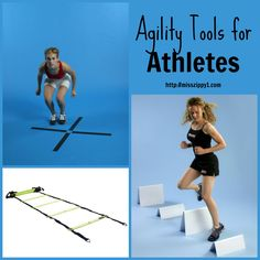 Are you active in sports? Training can be hard on your body. Protect yourself against injury with these agility tools