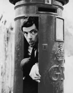 "Rowan Atkinson as ""Mr. Bean.""  British actor, comedian and screenwriter."