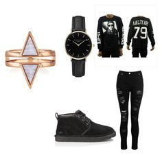 """""""ugg"""" by kiylee0209 on Polyvore featuring Dorothy Perkins, UGG and ROSEFIELD"""