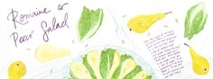 Romaine Pear Salad by Julia Bausenhardt