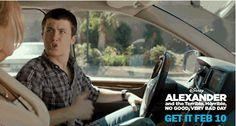 #ThatAwkwardMoment when you fail your driving test.  Take home Disney's Alexander Feb 10: http://di.sn/g022