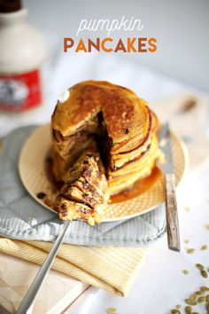 Pumpkin chocolate chips, Chocolate chip pancakes and Chocolate chips ...