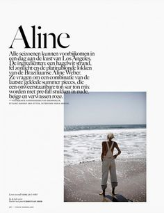 Vogue Netherlands Editorial July-August 2014 - Aline Weber by Annemarieke van Drimmelen Editorial Layout, Editorial Design, Booklet Cover Design, Lookbook Design, Magazine Layout Design, Grid Layouts, Typography Layout, Vogue, Print Layout