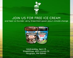 To all of you that live in the Boston area, be prepared to drop everything because Stop & Shop is partnering with Ben & Jerry's for a fun in-store event at their Hingham, MA location tomorrow, Wednesday April 15, 2015! #sponsored #joingreenlight