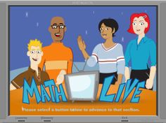 If you are ready to start a new math unit...be sure to check here first. It has TV episodes in a cartoon format that introduce math concepts and how it is applied in everyday life. By the way...also has links for language arts, math and science!