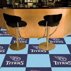 Tennessee Titans BlueTeam Proud Carpet Tiles