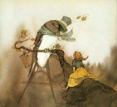 çizgili masallar: Lisbeth Zwerger, Thumbelina