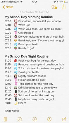 School Routine For Teens, Morning Routine School, Healthy Morning Routine, School Routines, Life Hacks For School, School Study Tips, Back To School Tips, Middle School Supplies, Early Morning Workouts
