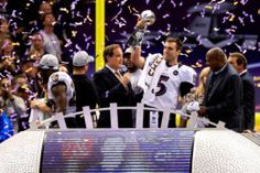The Baltimore Ravens defeated the San Francisco in Super Bowl XLVII on February 2013 in New Orleans. John Harbaugh, Lombardi Trophy, Heinz Field, Nfl Playoffs, Winners And Losers, Vince Lombardi, Baltimore Ravens, San Francisco 49ers