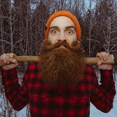 axe wielding beardo #7