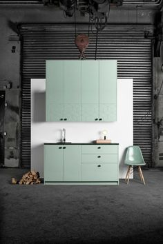 Mint Kitchen cabinet by Superfront. 5 Options to Upgrade Your IKEA Kitchen Cabinets Home, Kitchen Remodel, Kitchen Design, Ikea Kitchen, Interior, Ikea Furniture, Kitchen Interior, Ikea Cabinets, Ikea