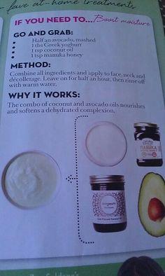 Natural facial - moisturiser