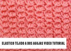 tejer elastico dos agujas