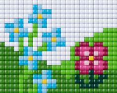 #pixelhobby #pixel #pixelen # creative #beads #flowers #bloemen