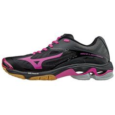 Mizuno Wave Lightning Z2 Womens Volleyball Shoe (Black Colorways)