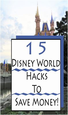 We have put together our top 15 best, easiest tips on how to save money at Disney World. |Disney World planning| Disney World saving| Save money| Disney World|
