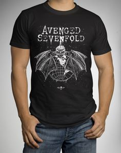 Avenged Sevenfold Deathbat Worldwide Tee
