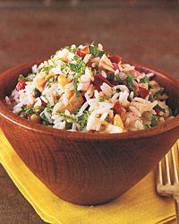 """Sicilian"" Rice Salad"