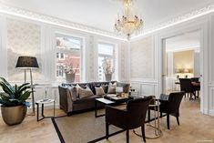 FINN – Herskapelig leilighet i Oscars gate, 5 sørvest vendte stuer/kjøkken