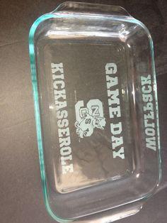 311e124318f WOLFPACK GAMEDAY Kickasserole Dish I want this! Nc State University