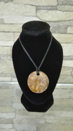 Tiger's Eye ceramic necklace Ceramic Necklace, Ceramic Jewelry, Handmade Items, Handmade Jewelry, Handmade Gifts, Boho Jewelry, Unique Jewelry, Necklaces, Ship
