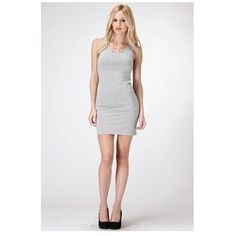 Body Con Dress Super cute and comfortable body con dress. You can wear it almost for everything. Various sizes available.  Color: H. Grey.  Retail. Dresses
