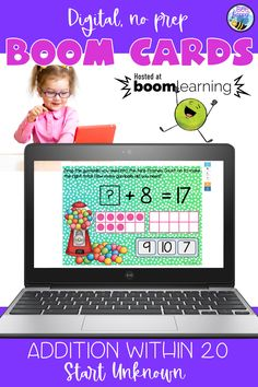 Addition within 20 Start Unkown Primary School Curriculum, Primary Classroom, Teaching Spanish, Teaching Resources, Teaching Addition, Interactive Whiteboard, Vocabulary Games, Bilingual Education, High Frequency Words