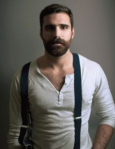 such a handsome gentlemen...with a perfect beard.