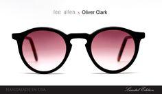 Lee Allen Eyewear x Oliver Clark NYC collaboration. Limited Edition!