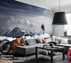 The glacier near Oberstdorf gives a full view over Germany and Austria. It was created by storm winds that cause very low temperatures. A perfect playground. ☞ #wall #decor #wallpaper #design #tapeta #foto #poster