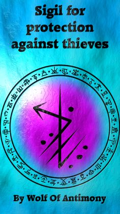 Sigil for protection against thieves