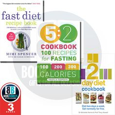 5:2 Diet Cookbook Collection More than 250 Recipe in 3 Books. Buy now at www.bookbundles.co.uk. #BookCollection #BooksForSale #DietBooks