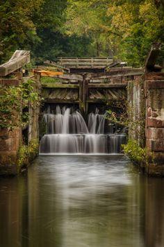 Summer At The Canal   Potomac River   Maryland