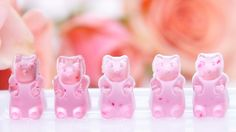 DIY Rosé Wine Gummy Bears: These Rosé gummy bears from Sugarfina have a wait list that's a mile long, and after our editors taste-tested them, we all found out why.