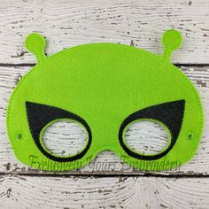Alien Children's Felt Mask