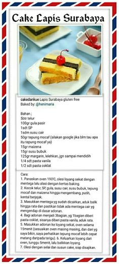 Pastry Recipes, My Recipes, Cake Recipes, Dessert Recipes, Cooking Recipes, Recipies, Traditional Cakes, Traditional Ideas, Indonesian Food