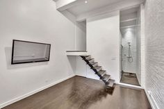 All-White West Village Loft Has a Shower You'll Frequent - Funky Friday Listing - Curbed NY