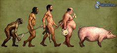 10 Satirical Illustrations About Evolution That Would Confuse The F*ck Out of Charles Darwin - Art-Sheep Charles Darwin, Gaucher's Disease, Rare Disease, Satirical Illustrations, Human Evolution, Evolution Science, Vicks Vaporub, Liberia, Excercise