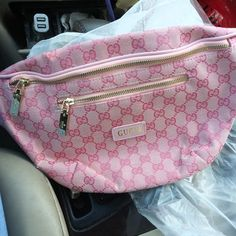 New (never used), Pink Gucci Fanny Pack . Make an offer! Stylish Fanny Pack, Baubles And Beads, Athleisure, Buy Now, To My Daughter, Jewelry Accessories, Gucci, Buy And Sell, Packing