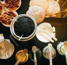Caviar. Chic
