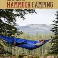 Hammock camping is growing in popularity due to it's convenience.  With less gear than traditional tent camping, many people are choosing hammock camping as a way to lighten up their backpacks.  Another asset of hammock camping is the variety of camp site options.  No need to find a flat, open, dry spot