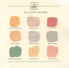CALCEM color palette