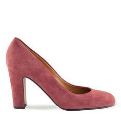 Imagine Pantofi dama bordo 4023 piele intoarsa