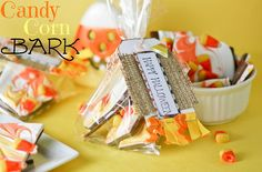 Candy Corn Bark by cookbookqueen