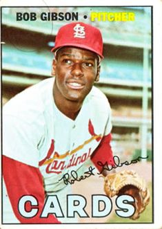 210 - Bob Gibson - St. Louis Cardinals