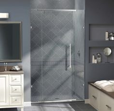 The Vitreo X Shower Door Delivers A Modern Frameless Design For The High End  Look Of Custom Glass At An Incredible Value. Brand: Dreamline Dimensions:  72 ...